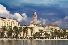 Diocletian Palace waterfront, Split Croatia